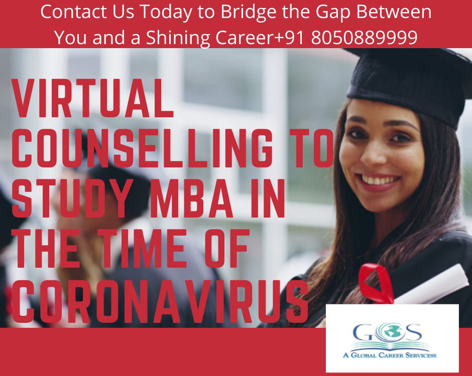 VIRTUAL COUNSELLING TO STUDY MBA IN THE TIME OF CORONAVIRUS