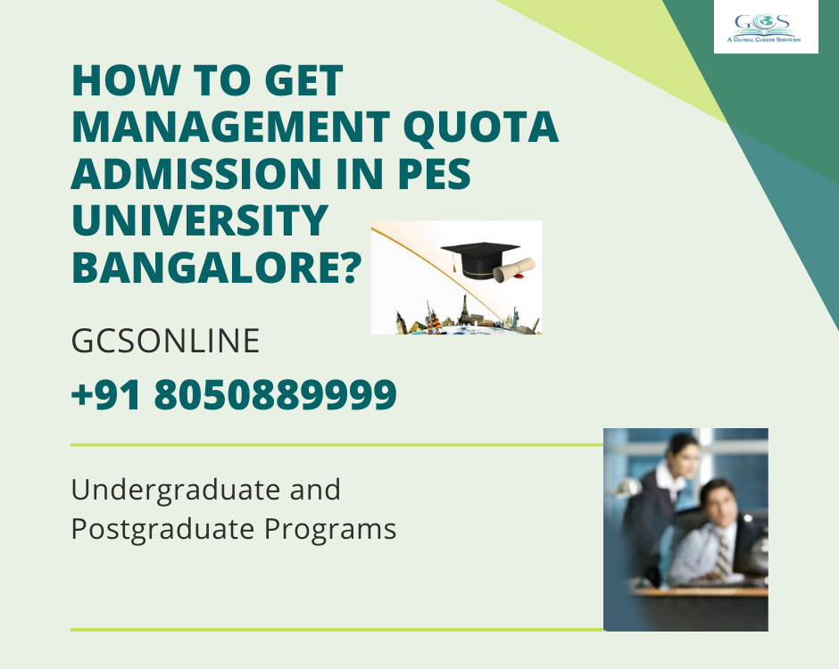 How to Get Management Quota Admission in PES University Bangalore_