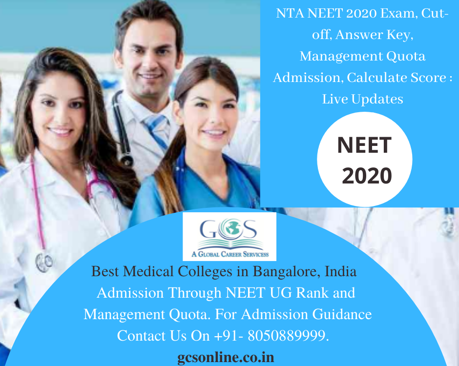 NTA NEET 2020 Exam, Cut-off, Answer Key, Management Quota Admission, Calculate Score _ Live Updates